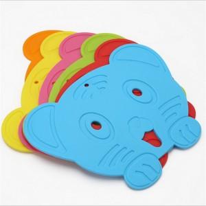 """Vaikiškas silikoninis pietų padėkliukas """"Puikusis tigriukas"""" (eko draugiškas)"""