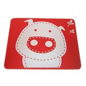 """Vaikiškas silikoninis pietų padėkliukas """"Kiauliukas"""" (eko draugiškas)"""