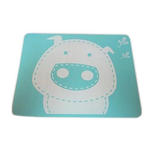 """Vaikiškas silikoninis pietų padėkliukas """"Kiauliukas 2"""" (eko draugiškas)"""