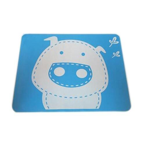 """Vaikiškas silikoninis pietų padėkliukas """"Kiauliukas 3"""" (eko draugiškas)"""