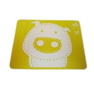 """Vaikiškas silikoninis pietų padėkliukas """"Kiauliukas 4"""" (eko draugiškas)"""