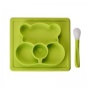 """Vaikiškas silikoninis pietų padėkliukas """"Koalos stilius"""" (eko draugiškas)"""