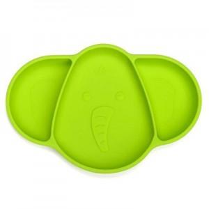 """Vaikiškas silikoninis pietų padėkliukas """"Super stilius"""" (eko draugiškas)"""