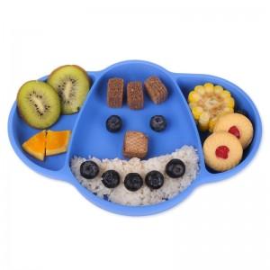 """Vaikiškas silikoninis pietų padėkliukas """"Super stilius 4"""" (eko draugiškas)"""