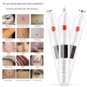 "Elektroninio veido odos valiklio adatėlių komplektas ""Efektas"""