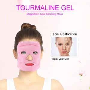 """Turmalino gelio kaukė veido liekninimui """"Puikus efektas"""""""