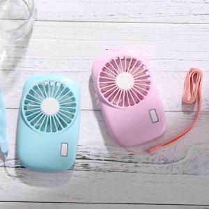 """Elektroninis įkraunamas nešiojamas ventiliatorius """"Minima Plus 3"""""""