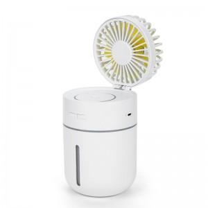 """Elektroninis įkraunamas nešiojamas ventiliatorius """"Progresas 11"""" (LED)"""