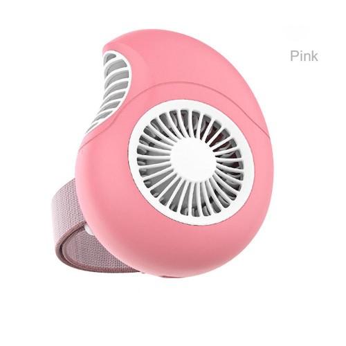 """Elektroninis įkraunamas nešiojamas ventiliatorius """"Mieloji sraigė"""