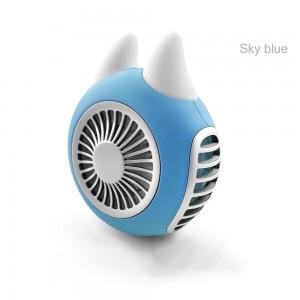 """Elektroninis įkraunamas nešiojamas ventiliatorius """"Su ragiukais 3"""""""