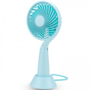 """Elektroninis įkraunamas nešiojamas ventiliatorius """"Modernusis stilius"""""""