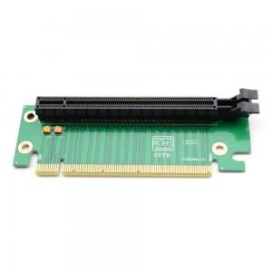 """PCI Express 16X 90º plokštė """"Green edition 2"""" (lizdas)"""