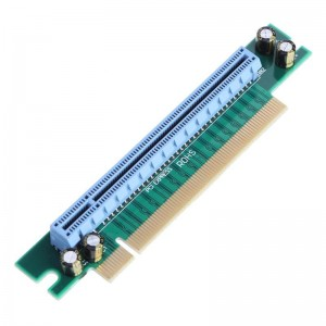"PCI Express 16X 90º plokštė ""Blue edition 2"" (lizdas)"