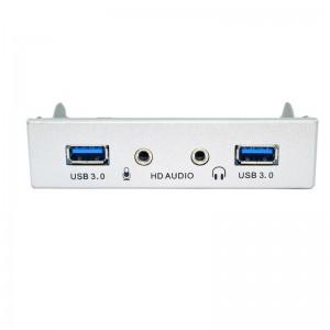 """USB 3.0 ir audio priekinis skydelis kompiuteriui """"Black Edition Pro GT 5"""""""