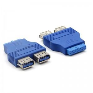 "USB 3.0 į 2 USB 3.0 keitiklis ""Blue Edition Pro 5"""