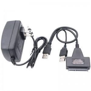 """USB 3.0 į SATA adapteris (2.5"""" HDD + 5V papildomas maitinimo lizdas iš 220V)"""