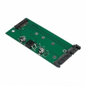 "SATA į M.2 plokštė ""Green edition"" (NGFF SSD į SATA 3 6 GB/s)"