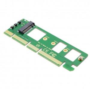 "M.2 į PCI-E X4 plokštė ""Green edition"" SSD (NVME, SSD)"