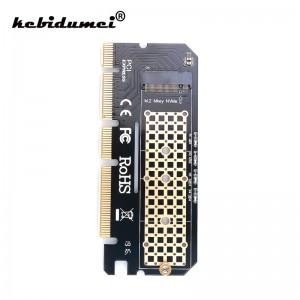 "M.2 į PCI-E 3.0 X16 plokštė ""Black edition"" (NVME, SSD)"