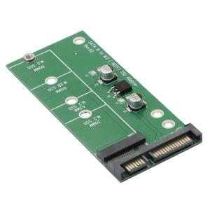 """M.2 į SATA 3.0 plokštė """"Green edition"""" (NGFF, SSD)"""