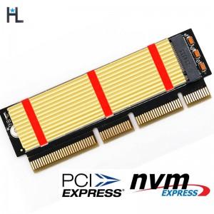 "M.2 į PCI-E 3.0 X16 plokštė ""Black edition Pro 2"" (NVME, NGFF, SSD)"