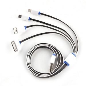 """Universalus USB įkrovimo kabelis """"Aukščiausia klasė 3"""""""