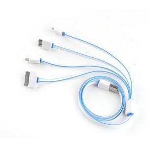 """Universalus USB įkrovimo kabelis """"Aukščiausia klasė 4"""""""