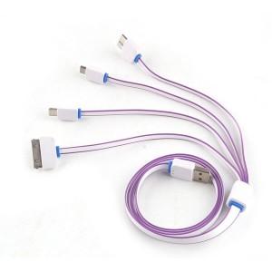 """Universalus USB įkrovimo kabelis """"Aukščiausia klasė 5"""""""