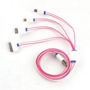 """Universalus USB įkrovimo kabelis """"Aukščiausia klasė 6"""""""