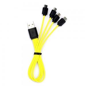 """Universalus USB įkrovimo kabelis """"Aukščiausia klasė 10"""""""