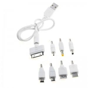 """Universalus USB įkrovimo kabelis """"Super Charger 6"""""""