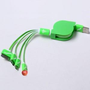 """Universalus USB įkrovimo kabelis """"Praktiškas pasirinkimas 10"""""""