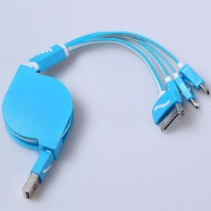 """Universalus USB įkrovimo kabelis """"Praktiškas pasirinkimas 12"""""""