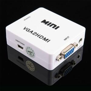"""VGA į HDMI keitiklis """"Aukščiausia klasė 2"""""""