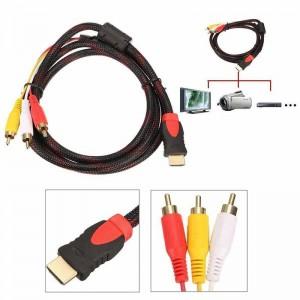 """HDMI į 3 RCA kabelis """"Aukščiausia klasė 3"""""""