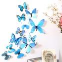 """Šviečiantys lipdukai """"Mėlynieji drugeliai 2"""" (12 vnt.)"""