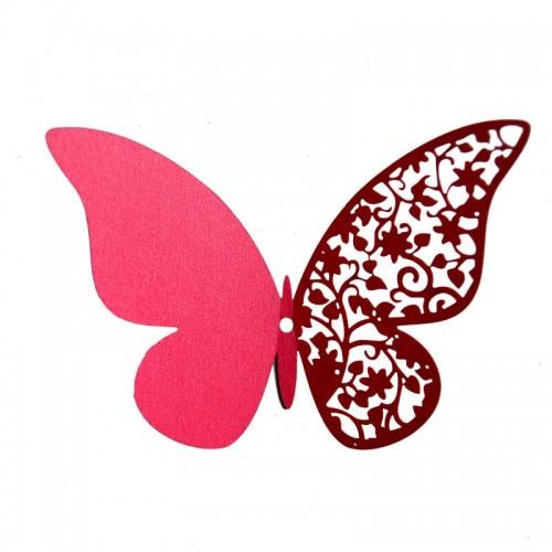 """Veidrodiniai lipdukai """"Stilingieji drugeliai 16"""" (12 vnt.)"""