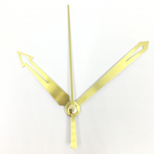 """Laikrodžio mechanizmas """"Stilingosios auksinės rodyklės"""" (10 vnt.)"""