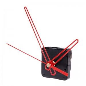 """Laikrodžio mechanizmas """"Stilingosios raudonos rodyklės 2"""" (10 vnt.)"""