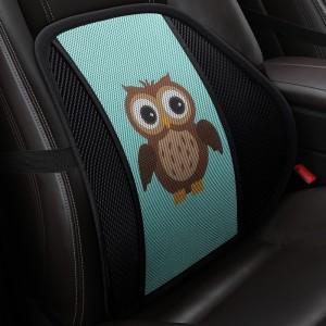 """Masažinė nugaros pagalvė automobiliui """"Puikioji pelėda"""""""