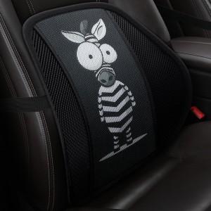 """Masažinė nugaros pagalvė automobiliui """"Keistasis zebras"""""""