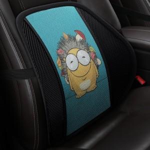 """Masažinė nugaros pagalvė automobiliui """"Linksmasis ežiukas"""""""
