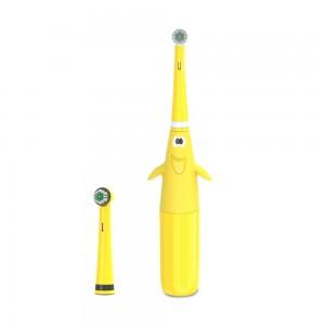 """Elektrinis dantų šepetėlis kūdikiams ir vaikams """"Puikusis geltonasis"""""""