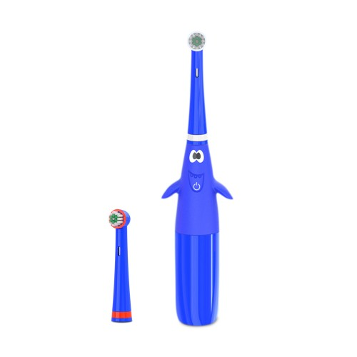 """Elektrinis dantų šepetėlis kūdikiams ir vaikams """"Puikusis mėlynasis"""""""