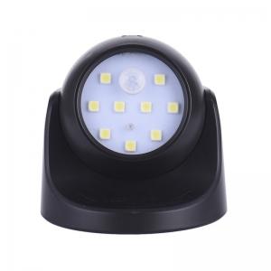 """Vaikiška naktinė lempa su judesio detektoriumi """"Patogiau"""" (juoda)"""