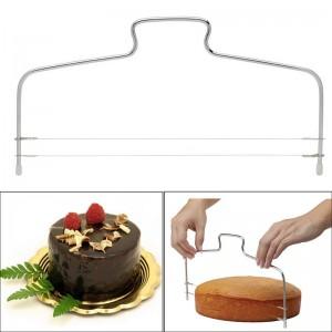 """Tortų ir pyragų pjaustyklė """"Patogiau nebūna 3"""" (dviguba)"""