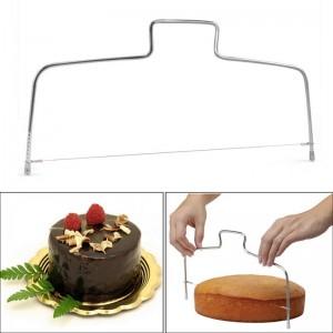 """Tortų ir pyragų pjaustyklė """"Patogiau nebūna 4"""" (vienguba)"""