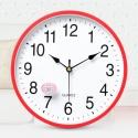 """Sieninis laikrodis """"Quartz"""" (raudonas)"""