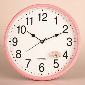 """Sieninis laikrodis """"Quartz"""" (rožinis)"""