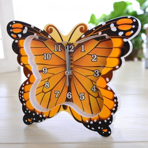 "Laikrodis ""Spalvotasis drugelis"""